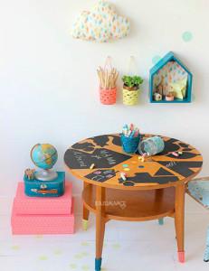 En esta mesa ¡sí se pinta!